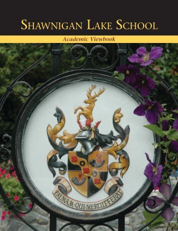 Shawnigan Lake SchooL - Our Kids