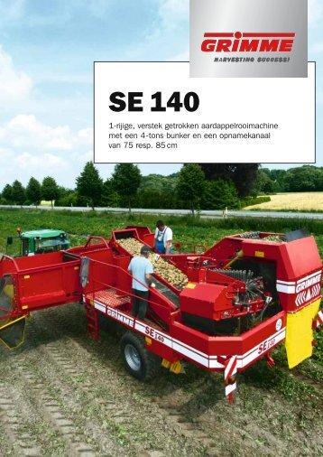 SE 140 - Grimme Landmaschinenfabrik GmbH & Co. KG