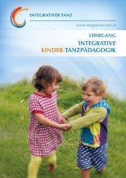 integrative kinder-tanzpädagogik - Integrativer Tanz