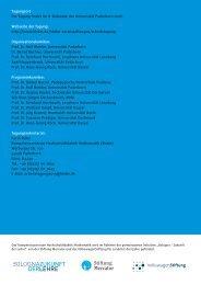 Programmflyer - Kompetenzzentrum Hochschuldidaktik Mathematik