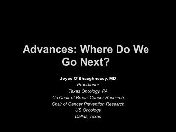 Advances: Where Do We Go Next? - Educational Concepts Group