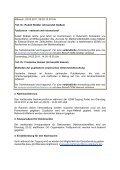 Programm für Doktoranden und Post-docs - GDM - Seite 2