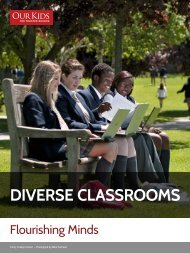 Diverse classrooms - Our Kids