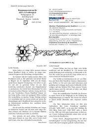 Rundbrief Nr. 134 (3 und 4/2009) - Begegnungszentrum für aktive ...