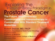 Immunotherapy Combinations and Immunotherapy in Combination ...
