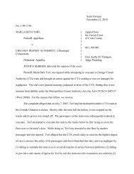 No. 1-09-1710, Torf v. Chicago Transit Authority - Chicago Personal ...