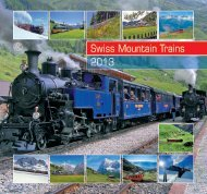 Swiss Mountain Trains 2013
