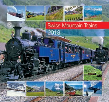 Swiss Mountain Trains 2013