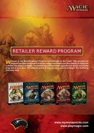 RETAILER REWARD PROGRAM - MyManapoints.com