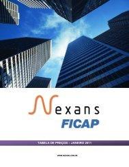 tabela de pre˙os janeiro 2011 - Nexans