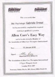 Gabriela Dresel - Allen Carr's Easyway