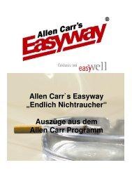 Rauchen aufhören mit Allen Carr - Allen Carr's Easyway