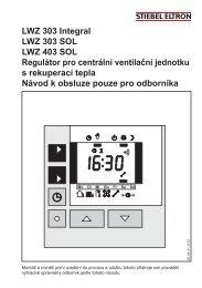 Regulátor LWZ 303/403