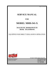 service manual for model mhw-341-f-107 magnetic     - Ceeco com
