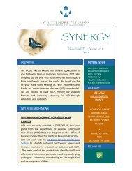WPI Winter Newsletter 2012 - Whittemore Peterson Institute for ...