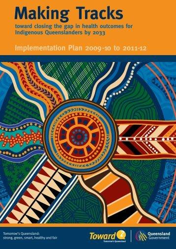 Making Tracks: Implementation Plan 2009-10 to 2011-12
