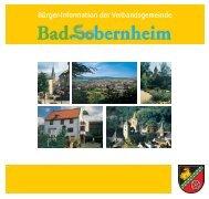 Bürger-Information der Verbandsgemeinde - Bad Sobernheim