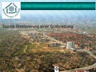 Alte Genossenschaft mit jungen Ideen Soziale Stabilisierung einer ...