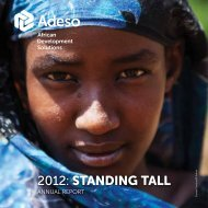 2012 Annual Report - Adeso