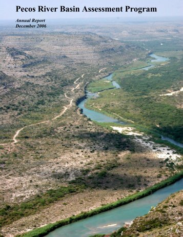 Annual Report, Year 2 (2006) - Pecos River WPP Implementation ...