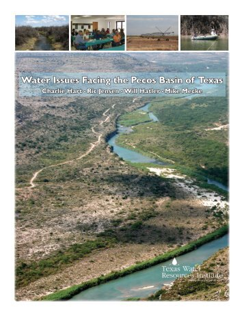 Water Issues Facing the Pecos Basin of Texas - Pecos River WPP ...