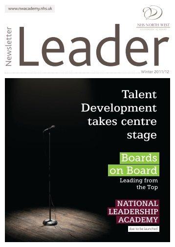 Winter 2011/12 - NHS North West Leadership Academy