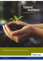 Document link Talent Matters Report- Learning for the Future