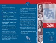 Temporary Financial Assistance brochure - The American Legion ...