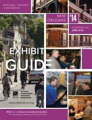2014 Exhibit Brochure - National Correctional Industries Association