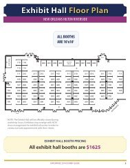 2014 Exhibit Hall Floorplan and Booth Contract - National ...