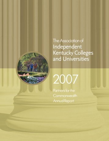 Independent Kentucky Colleges and Universities - AIKCU.org
