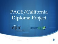 Download presentation - Policy Analysis for California Education