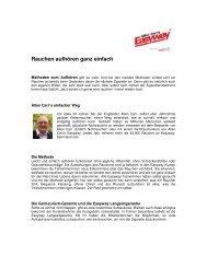 Rauchen aufhören ganz einfach - Allen Carr's Easyway