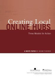 Creating Local Online Hubs: Three Models for Action - KnightComm