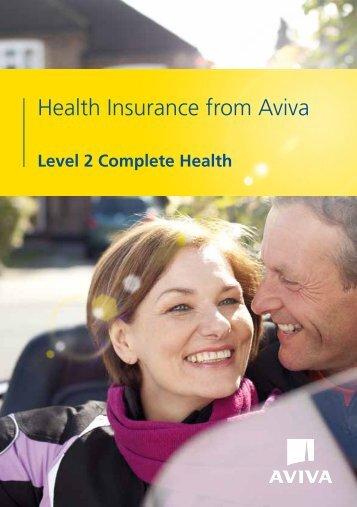 Level 2 Complete Health - Aviva