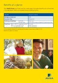 Health Starter - Aviva - Page 4