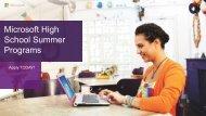 Summer Programs PowerPoint (PDF) - Garfield Computer Science