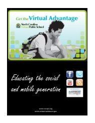 Educating the Social and Mobile Gen.pdf - North Carolina Virtual ...