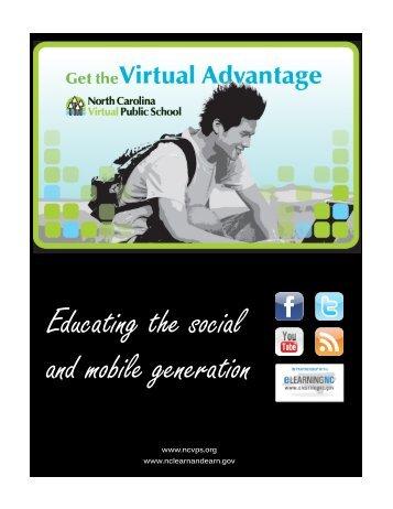 Educating the Social and Mobile Gen.pdf - North Carolina Virtual ...