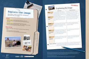 Investigating Images - The Critical Thinking Consortium