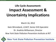 Impact Assessment & Uncertainty Implications