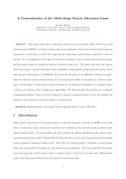 A Generalization of the Multi-Stage Search Allocation Game 1 ...