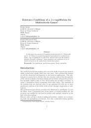 Existence Conditions of a Zm-equilibrium for Multicriteria Games1 ...