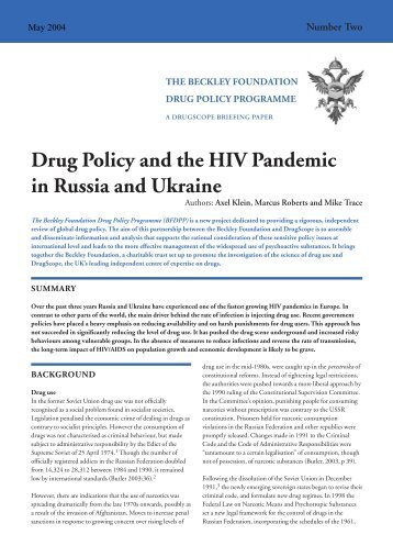 new factsheet two friday - Global Initiative for Drug Policy Reform