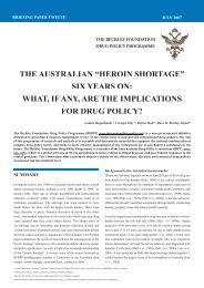 The Australian 'Heroin Shortage' - Global Initiative for Drug Policy ...