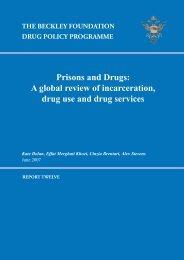 Prisons & Drugs - Kent Academic Repository
