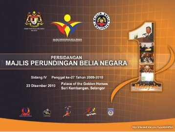 Usul Persidangan MPBN & MBM - Majlis Perundingan Belia Negara