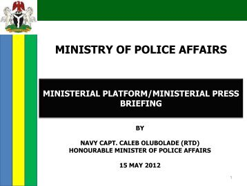Download - Federal Ministry of Information