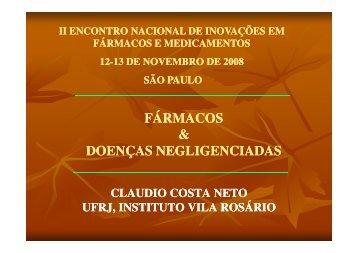 (Microsoft PowerPoint - Claudio Costa Neto DOEN ... - IPD-Farma