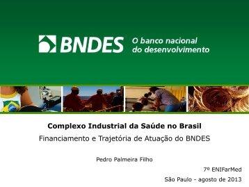 Atuação do BNDES - IPD-Farma